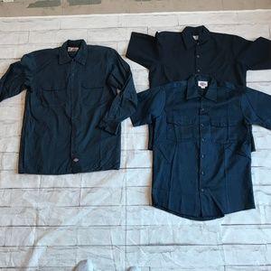 Bundle | Dickies Navy Shirts Size M